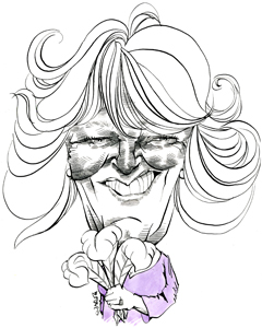 Camilla Duchess of Cornwall cartoon