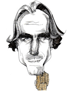 Daniel Day Lewis cartoon