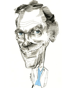 Hugh Laurie cartoon