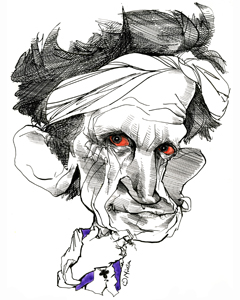 Keith Richards cartoon