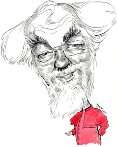 Rowan Williams cartoon